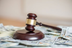 court gavel for Division of Property in California