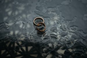 wedding rings for No Fault Divorce